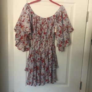 Forever 21 Ruffle Dress - Size Small